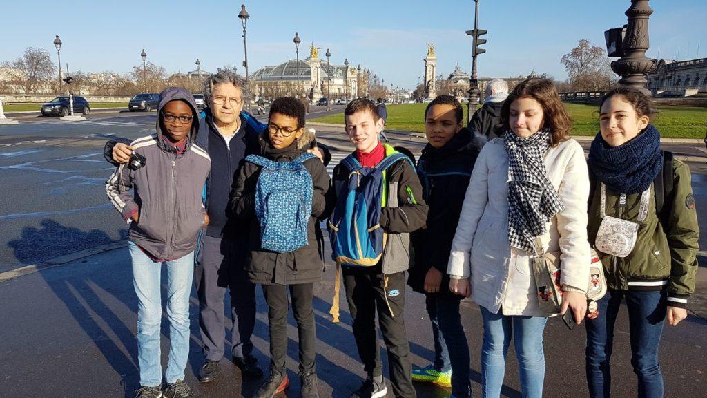 Visite de Paris avec la classe de 4ème 001 20190207 102211 1024x576