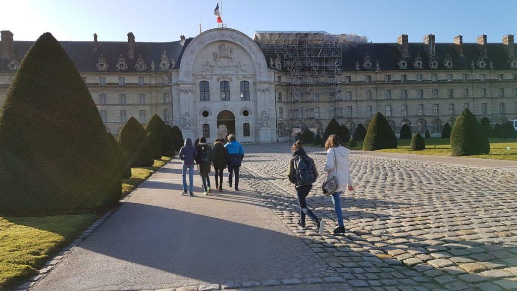 Visite de Paris avec la classe de 4ème 001 20190207 103302 1024x576