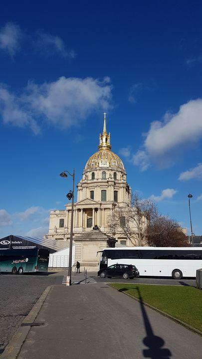 Visite de Paris avec la classe de 4ème 001 20190207 123807