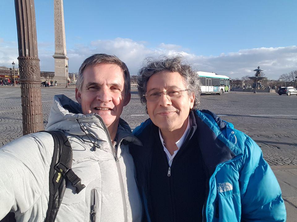 Visite de Paris avec la classe de 4ème 001 20190207 161222