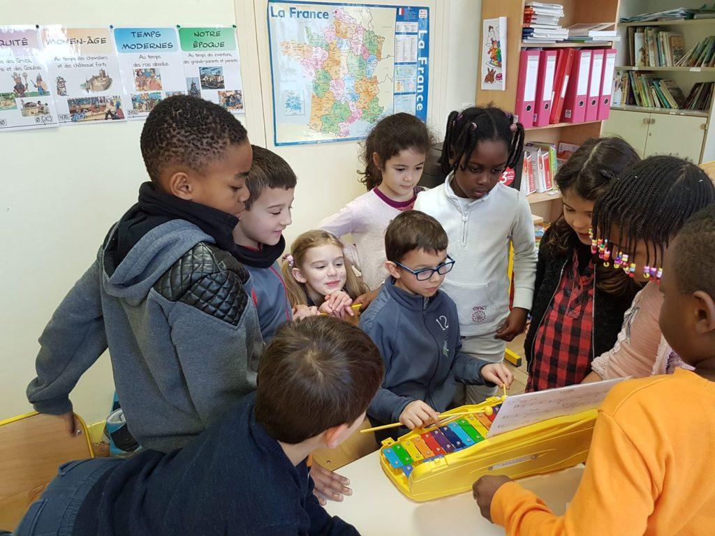L'art plastique et la musique à l'école primaire Mathurin Cordier 10 web 1024x768