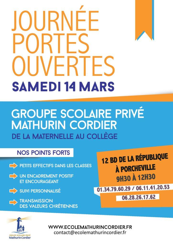 Journée Portes Ouvertes 14 mars 2020 JPO 725x1024 école privée protestante Accueil JPO 725x1024